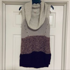 Knox rose Sweater cowl neck long
